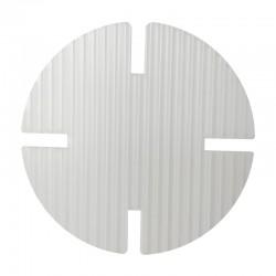 Disco de unión de plástico para mamparas protectoras DivisionPanel.com